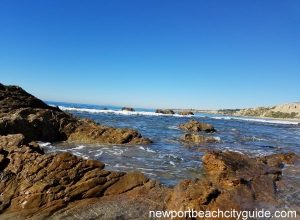 reef point crystal cove state park newport beach ca